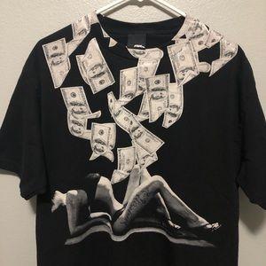 """No Fear """"Money"""" T-shirt"""